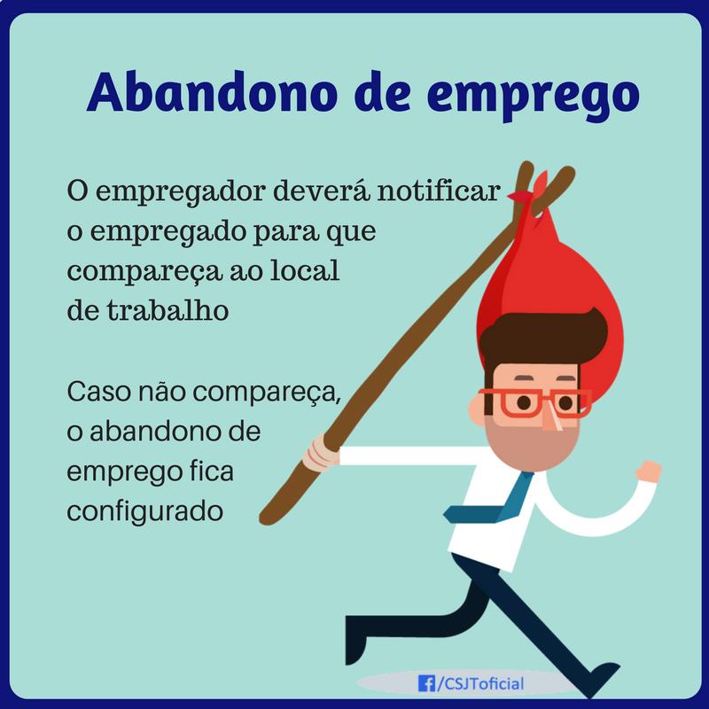ABANDONO DE EMPREGO