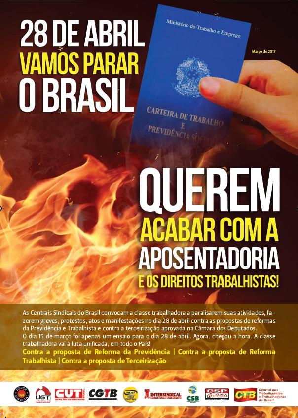 28 de Abril o  Brasil vai parar