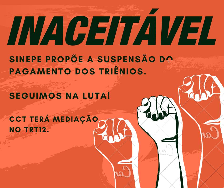 Confira a proposta do SINEPE não aceita pelos Sindicatos