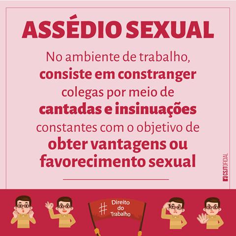 Direto do Trabalho  CSJT – Assédio Sexual