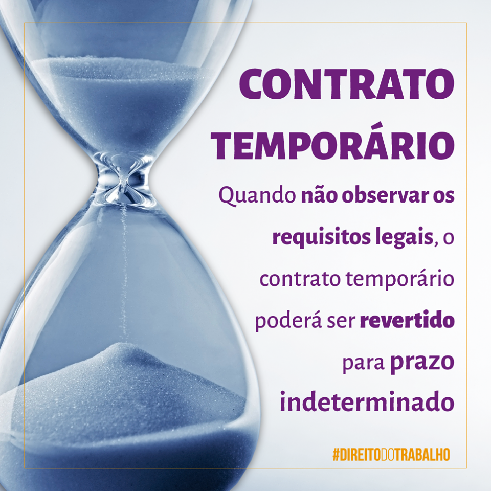 CONTRATO TEMPORÁRIO