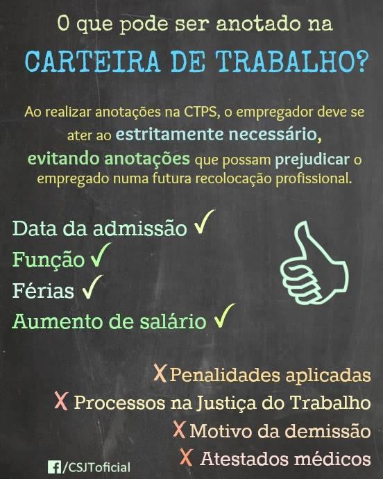 CARTEIRA DE TRABALHO