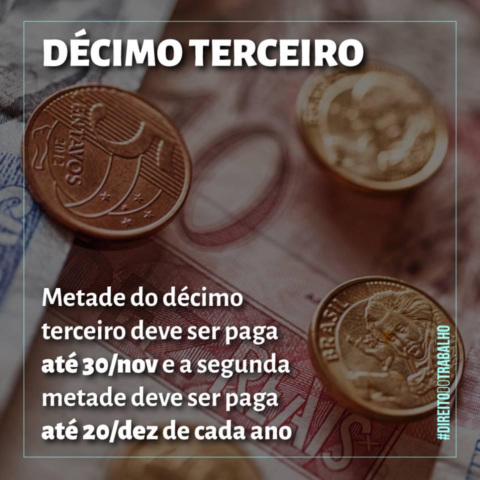 DÉCIMO TERCEIRO
