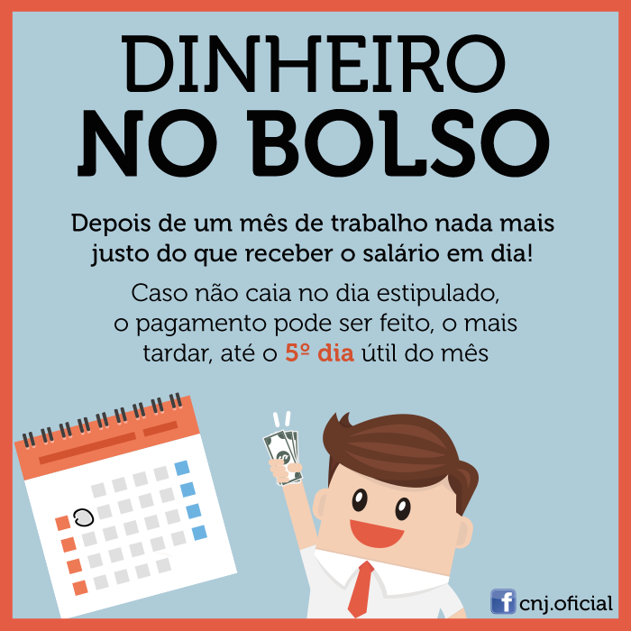 PAGAMENTO DO SALÁRIO
