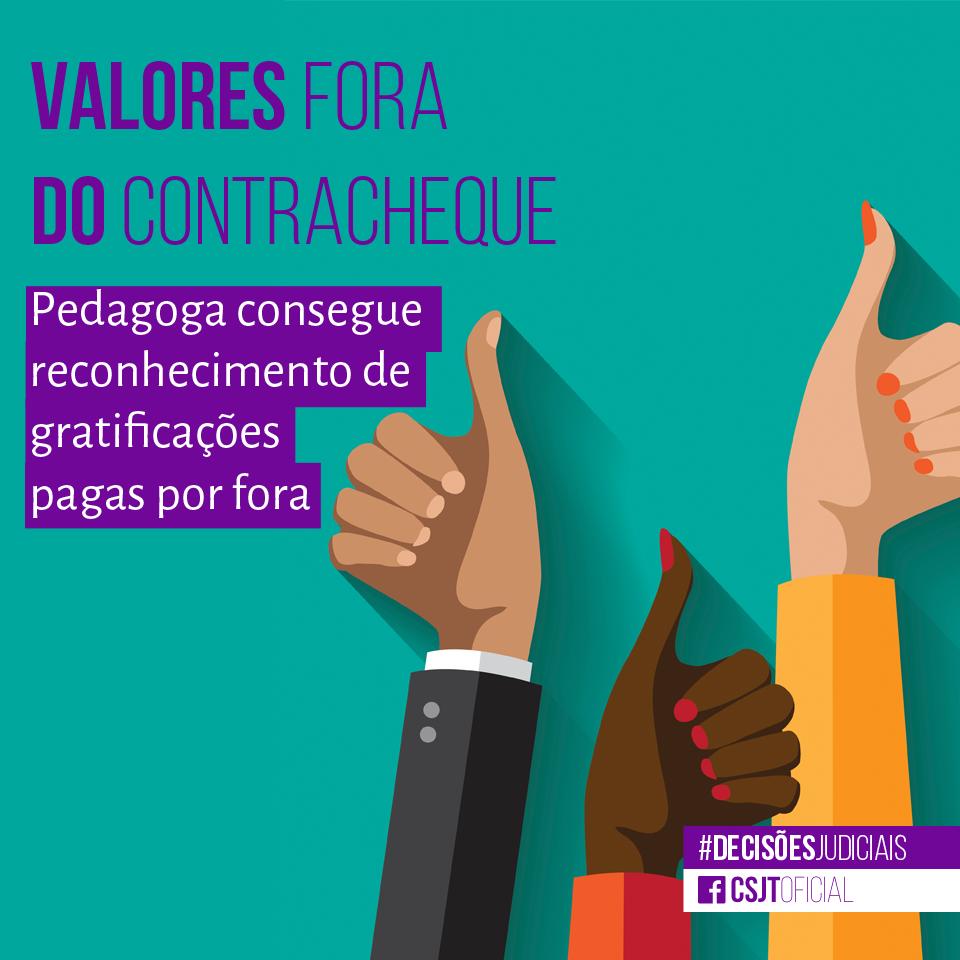 VALORES FORA DO CONTRACHEQUE