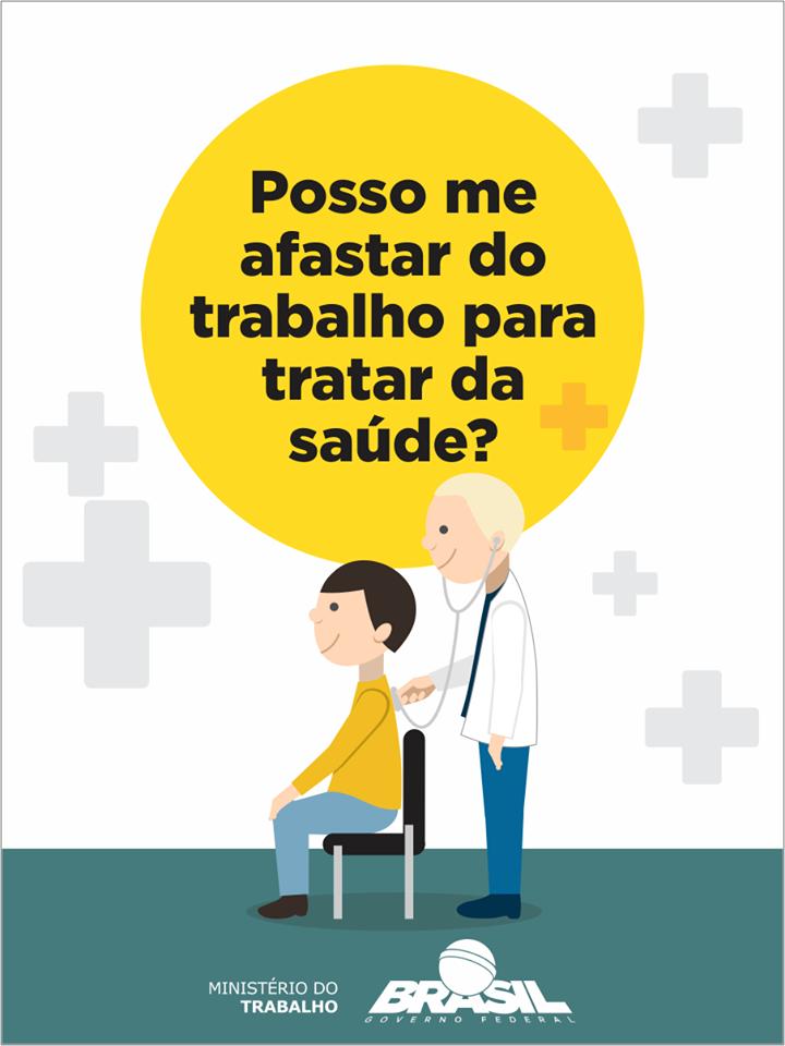 AFASTAMENTO PARA TRATAR DA SAÚDE