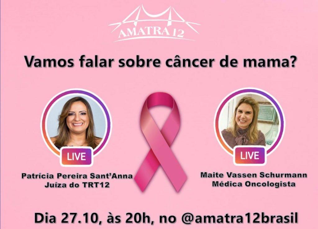 Vamos falar sobre câncer de mama?